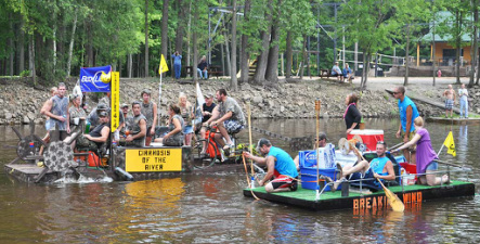Wolf River Raft Race